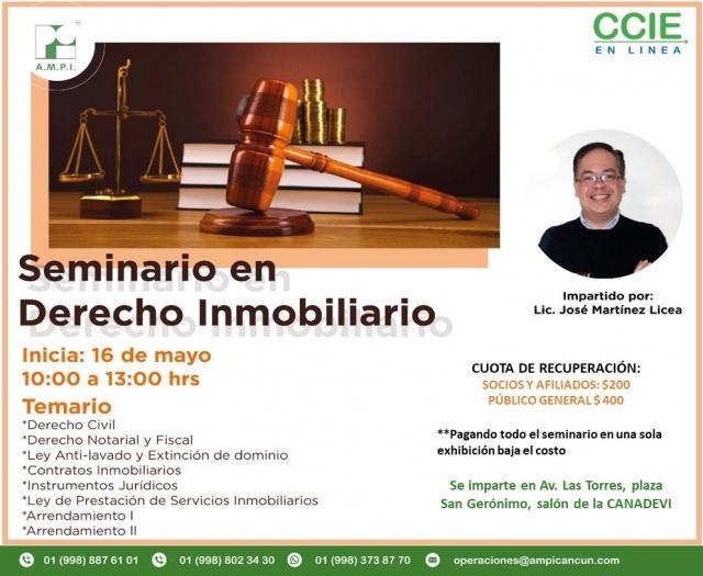 Seminario Derecho Inmobiliario - LEY ANTI-LAVADO Y EXTINCIÓN DE DOMINIO