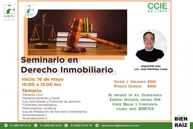 Seminario Derecho Inmobiliario - DERECHO CIVIL