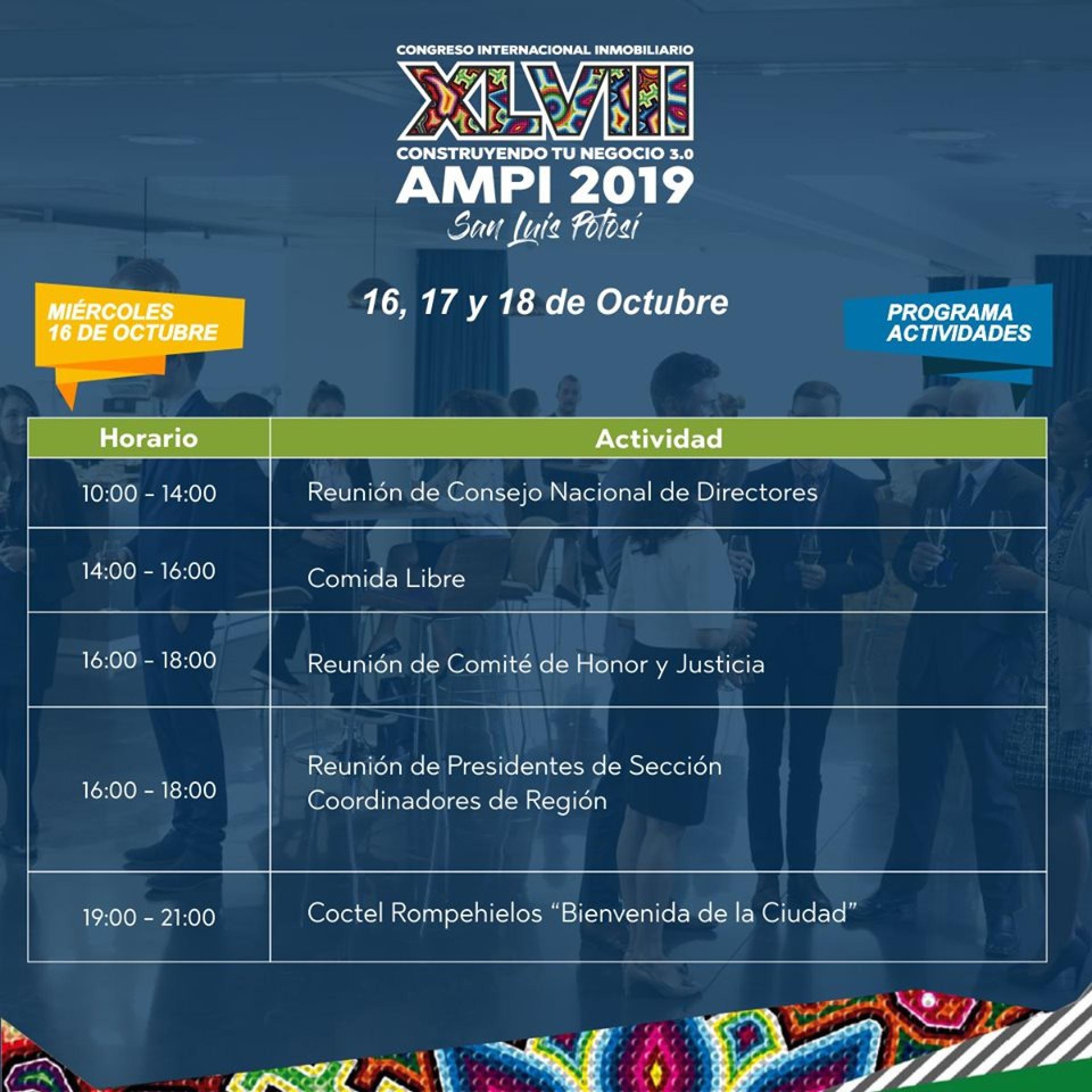 XLVIII CONGRESO INTERNACIONAL AMPI 2019