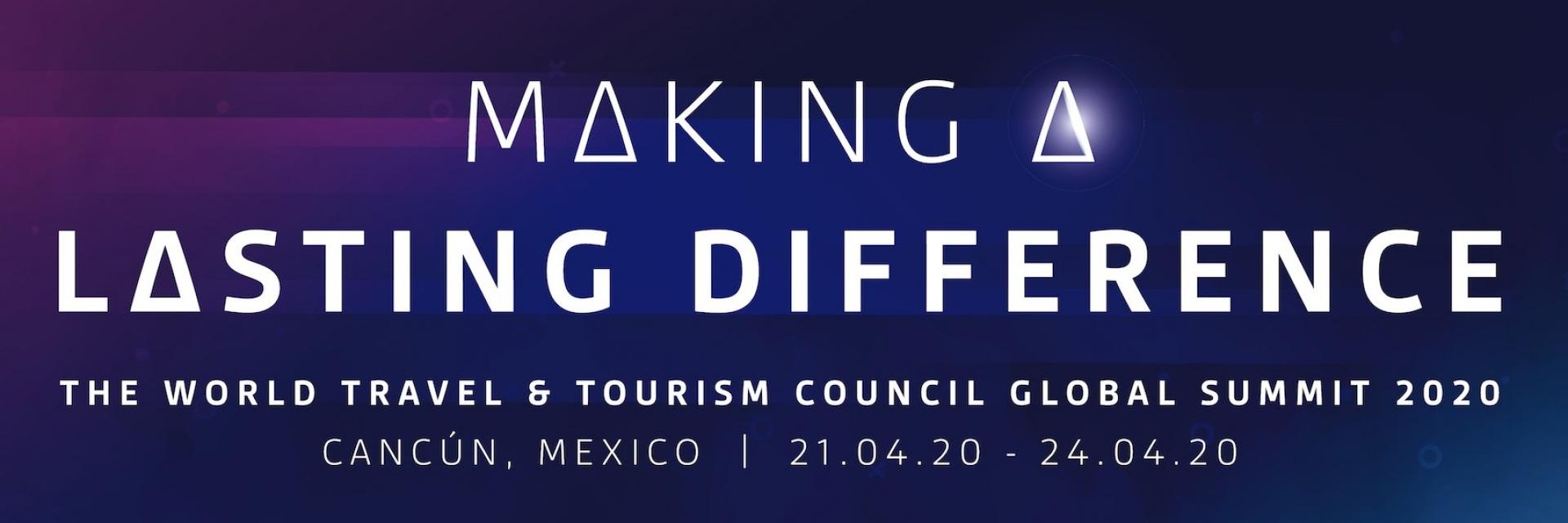 Cumbre mundial del WTTC 2020