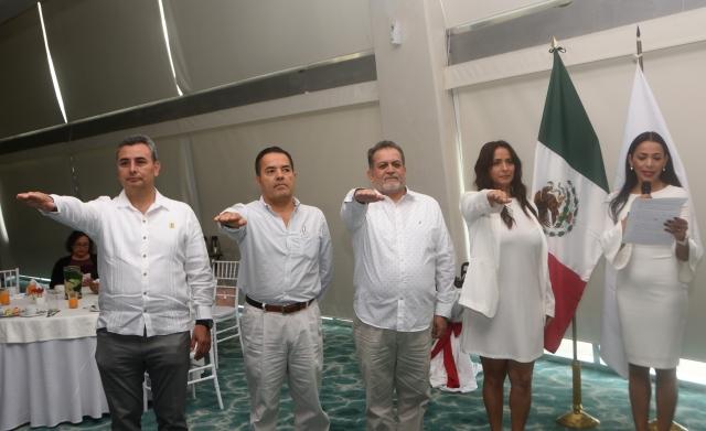 Inmobiliarios respaldan a Tayde Fávila al frente de AMPI Cancún